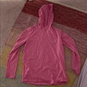 Pink vineyard vines hoodie